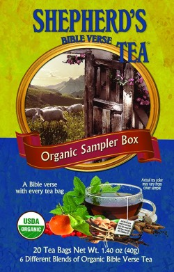 Shepherd's Bible Verse Tea - SAMPLER BOX