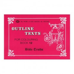 Outline Texts Coloring Book 12