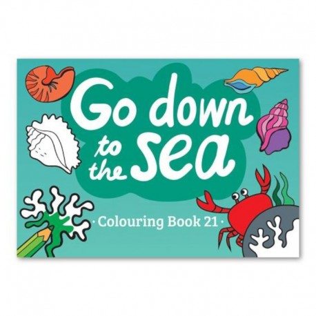 Go down to the sea - Coloring Book 21