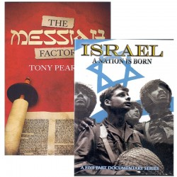 The Messiah Factor/Israel: A Nation is Born (BOOK/DVD SET)