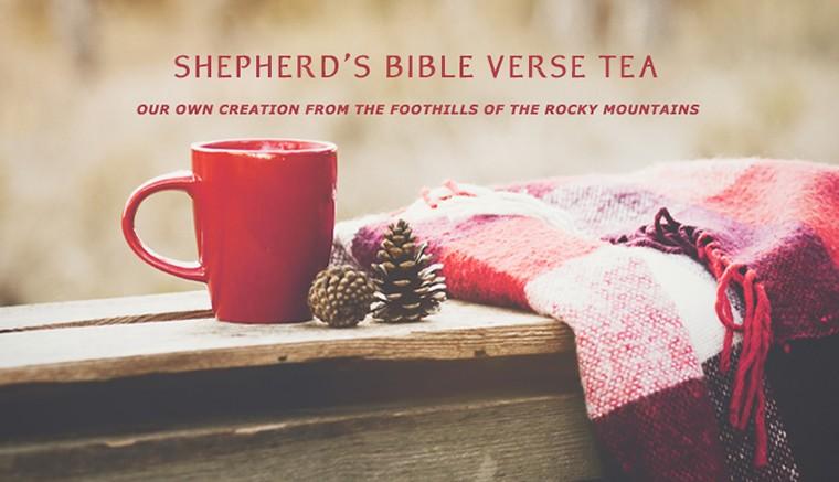 Organic Bible Verse Tea
