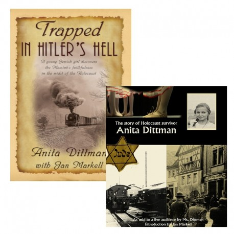 Trapped in Hitler's Hell/The Story of Anita Dittman (DVD) set