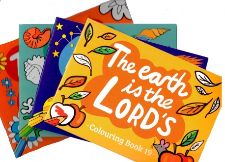 Mixed Set of Coloring Books - Set 3