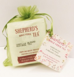 Bible Verse Sampler Bag - 6 Tea Bags